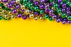Mardi gras carnival background -