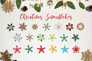 THE CHRISTMAS SNOWFLAKES