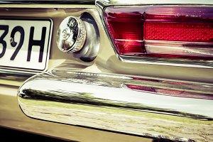 vintage oldtimer Mercedes Pagode