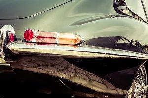 Jaguar E Type vintage oldtimer