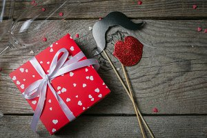 Valentine's day concept - presents