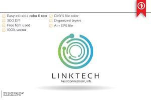 Link Technology Logo Template