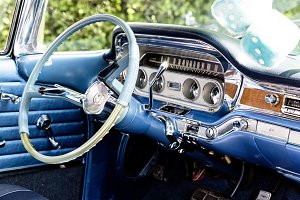 vintage oldtimer us car