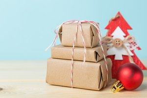 Christmas decorations - presents and