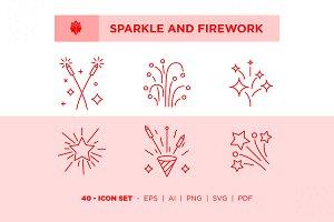 Sparkle and Firework