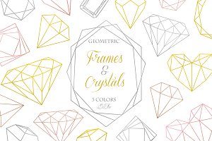 Geometric Frames And Crystals