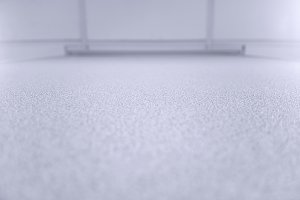 Horizontal white floor texture bokeh