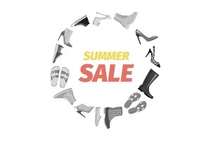 Summer Sale Advertisement Banner