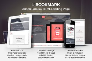 Bookmark - eBook Landing Page