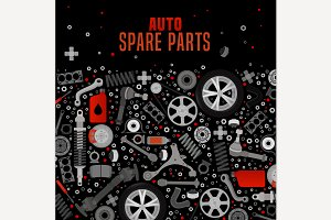 Spare Parts Background