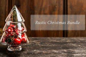 Bundle of rustic Christmas