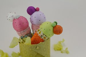 Handmade ice creams