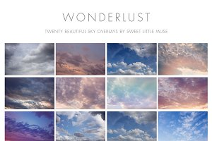 Wonderlust Sky Overlays