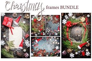 Bundle of Christmas frames