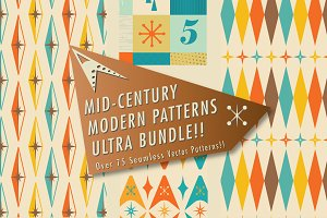 Mid-Century Patterns Ultra Bundle