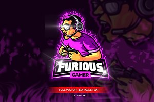 Furious Gamer Esport Logo