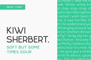 Kiwi Sherbert Sans Serif Font
