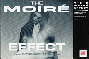 THE MOIRÉ EFFECT BY 2Ø7ART