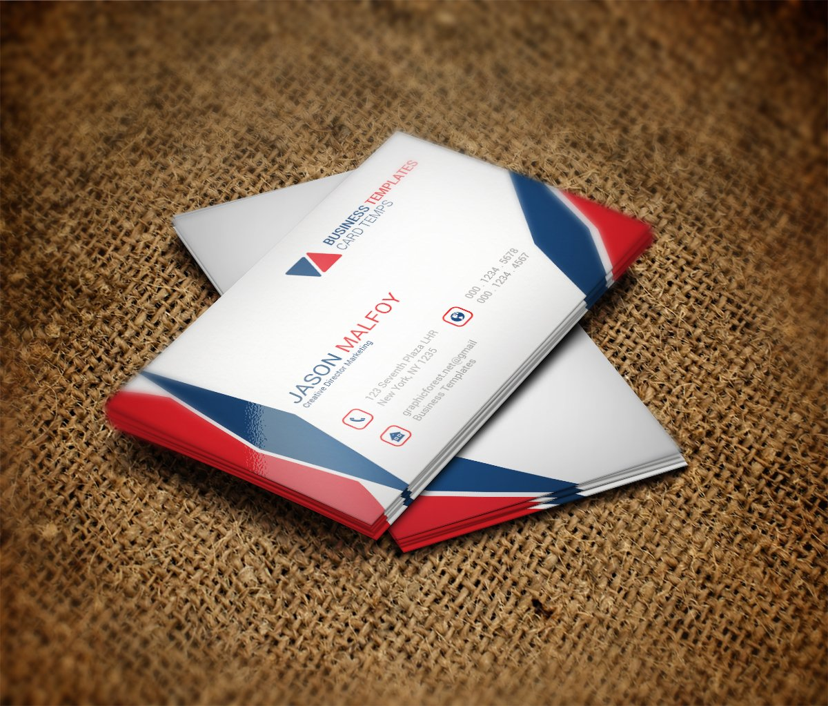 Cool Business Card Template ~ Business Card Templates ...
