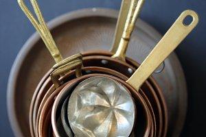 Copper casserole