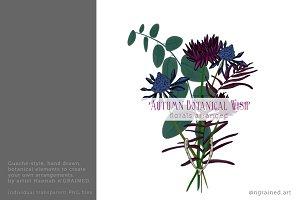 Illustrated Autumn Botanicals