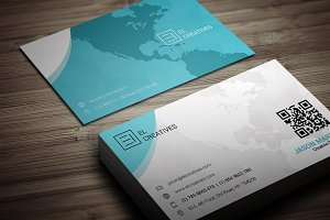 Creative Map Business Card