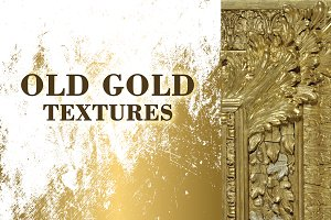 Old gold textures