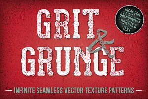 Grit and Grunge Repeat Patterns