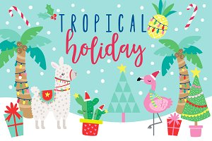50% OFF SALE Tropical Holiday