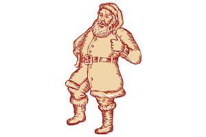Santa Claus Father Christmas Thumbs