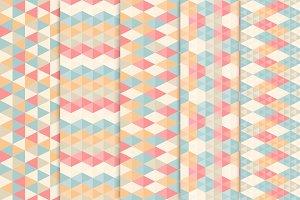 Triangle seamless patterns