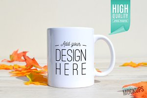11oz Mug Mockup - 1 Sided