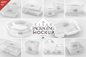 01 Clear Container Packaging Mockups
