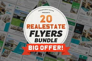 Premium Real Estate Flyer Bundle