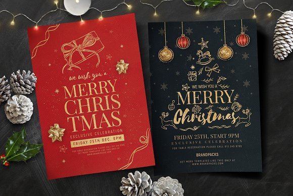 Christmas Flyers Posters