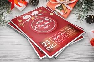 Christmas Party Flyer V903