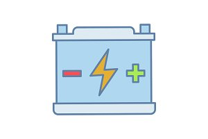 Accumulator color icon