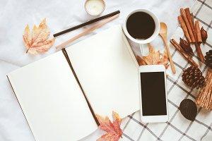 Autumn lifestyle concept