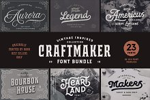 Craftmaker Font Bundle