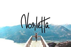 Norletta - Handwritten / Luxury Font