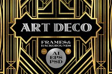 10 Frames Vol.2 - Art Deco Style