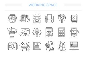24 Office Icons.