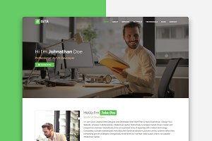 Nista - Creative Personal Template
