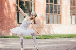 attractive young ballerina in tutu s