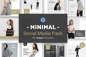 Minimal Social Pack v. 01