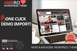 Ambro Magazine WordPress Theme