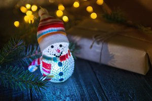 Beautiful little Christmas snowman g