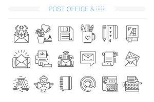 24 Post Office Icon.