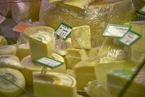 The sale of cheeses