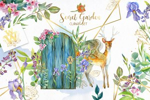 Secret Garden clipart